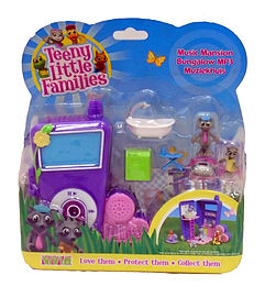 Teeny Little Families Music Mansion Bungalow MP3 Figurines and Sets