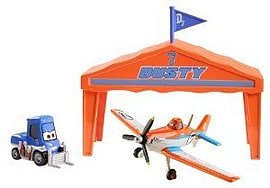 Disney Planes Dusty Crophopper Pit Row Giftset Figurines and Sets