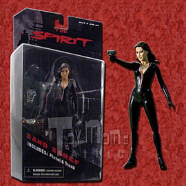 The Spirit 7 Inch Sand Seref Action Figure Figurines and Sets