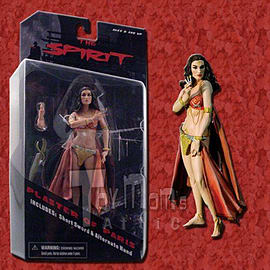 The Spirit 7 Inch Plaster of Paris Action Figure Figurines and Sets