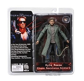 Terminator Collection S3 Kyle Reese Human Resistance Soldier 7 inch Action Figure Figurines and Sets