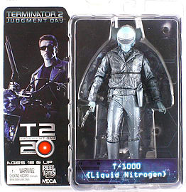 Terminator Collection S3 T-1000 Liquid Nitrogen 7 inch Action Figure Figurines and Sets