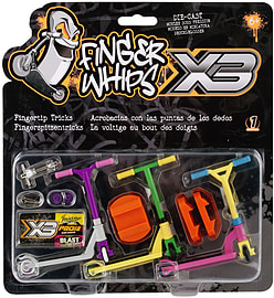 Finger Whips X3 Triple Pack Scaled Models
