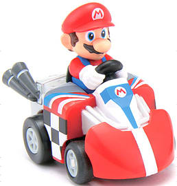 Tomy ChoroQ Steer Mario Kart RC - Mario Scaled Models