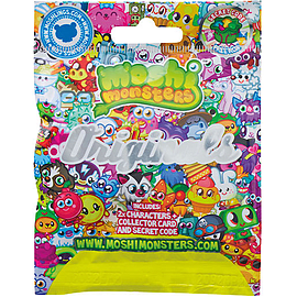 Moshi Monsters Two Moshling Foil Pack - Originals Figurines and Sets