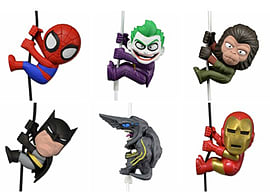 Scalers Collectible Mini Figures Wave 2 - Spiderman Figurines and Sets