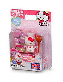 Hello Kitty Mega Bloks Pastry Chef Blocks and Bricks