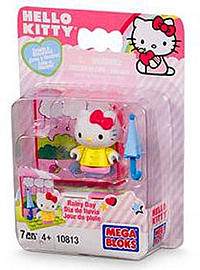 Hello Kitty Mega Bloks Rainy Day Blocks and Bricks