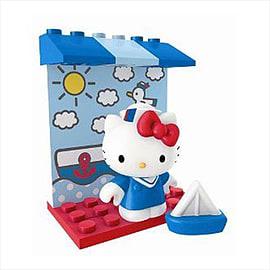 Hello Kitty Mega Bloks Sailor Blocks and Bricks