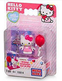 Hello Kitty Mega Bloks Birthday Blocks and Bricks