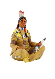 Indian with Axe Figurines and Sets
