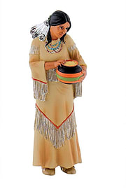 Squaw Figurines and Sets