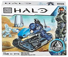 Mega Bloks Halo UNSC Siege Bike Blocks and Bricks