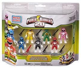 Mega Bloks Power Rangers Megaforce 20th Anniversary Battle Pack Blocks and Bricks