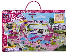 Mega Bloks Barbie Build N Style Pool Party Blocks and Bricks
