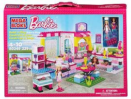 Mega Bloks Barbie Build N Play Bakery Shop Blocks and Bricks