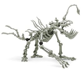 Skeleflex Alien Bones Fang-O-Flex Figurines and Sets