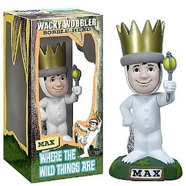Where the Wild Things are - Max Glow In The Dark Bobblehead Figurines and Sets
