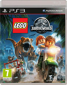 LEGO Jurassic World PlayStation 3 Cover Art