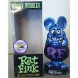 Metal Blue Ratfink Bobblehead Figurines and Sets