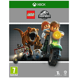 LEGO Jurassic World Xbox One Cover Art