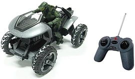 Halo Silver 8 Full Function R/C Arctic Mongoose and Master Chief Figurines and Sets