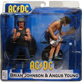 AC/DC - Brian Johnson and Angus Young - 2 Pack - Neca Figurines and Sets
