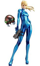 Metroid - Other M Samus Aran Zero Suit Pvc Statue Figurines and Sets