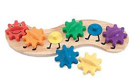Melissa & Doug Rainbow Caterpillar Pre School Toys