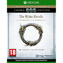 The Elder Scrolls Online: Tamriel Unlimited Crown Edition - Only at GAME Xbox One Cover Art