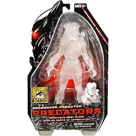 Cloaked 7 Inch Berserker Predators Figure Figurines and Sets