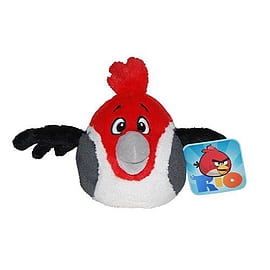 Angry Birds Rio 5 Inch Talking Plush - Pedro (Red) Soft Toys