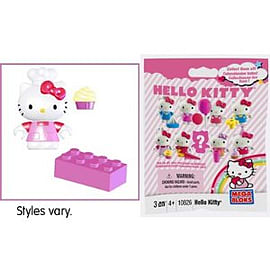 Mega Bloks Hello Kitty Mini Figure Series 1 Blocks and Bricks