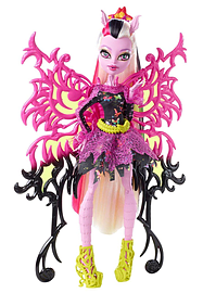 Monster High Freaky Fusion Bonita Femur Hybrid Figurines and Sets