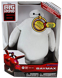 Big Hero 6 28cm DX Feature Baymax Plush (White) Soft Toys