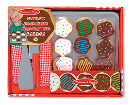 Melissa and Doug Slice & Bake Wooden Cookie Set Pre School Toys