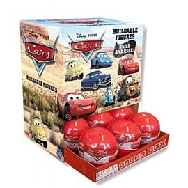 Disney Pixar Cars Buildable Car and Stickers Figurines and Sets