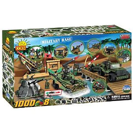 Small Army 1000 Pcs Military Base Figurines and Sets
