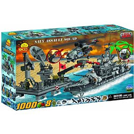 Small Army 1000 Pcs Naval Assault Squad Figurines and Sets