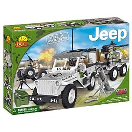 Small Army 250 Pcs Jeep Willys Winter Squad Figurines and Sets