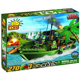 Small Army 300 Pcs Patrol Boat Figurines and Sets