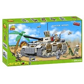 Small Army 400 Pcs Panzer Troops Figurines and Sets