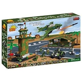 Small Army 750 Pcs Military Airfield Figurines and Sets