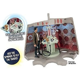 Doctor Who Junk Tardis Console Playset Figurines and Sets