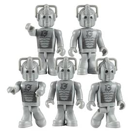 Doctor Who Character Building - Cyberman Army Builder Pack Figurines and Sets