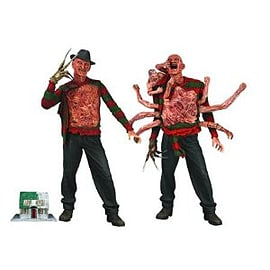 Nightmare On Elm Street 7 Inch Action Figures Series 2 Set of 2 Figurines and Sets