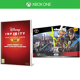 Disney Infinity 3.0 Software Disc and Twilight of the Republic Play Set Bundle Xbox One