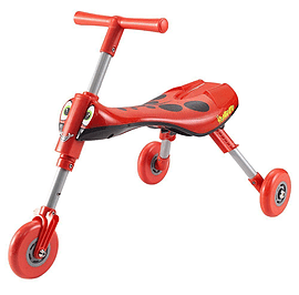 Scuttlebug Beetle Trike - Red and Black Pre School Toys
