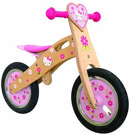 Hello Kitty Wooden Balance Bike Ohky154 Pre School Toys