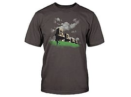 Minecraft Statues T-Shirt (M (40)) Clothing